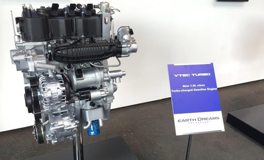 Mesin 1.0-Liter VTEC Turbo Honda Freed