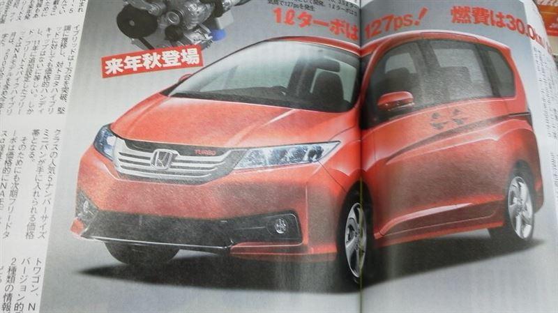 Honda Freed Generasi Terbaru Akan Pakai Mesin Turbo