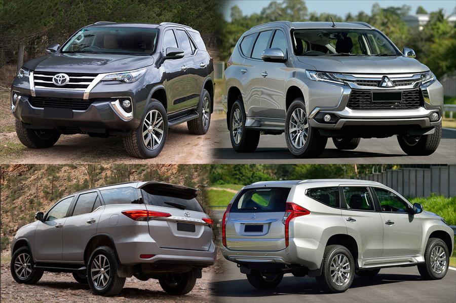 Adu Laris Mitsubishi All New Pajero Sport Dan Toyota All