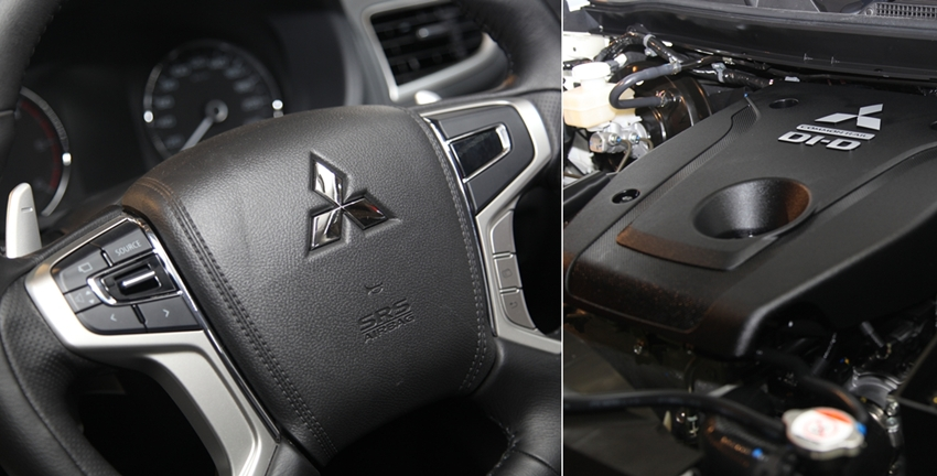 Paddle Shift Mesin MIVEC Mitsubishi All New Pajero Sport