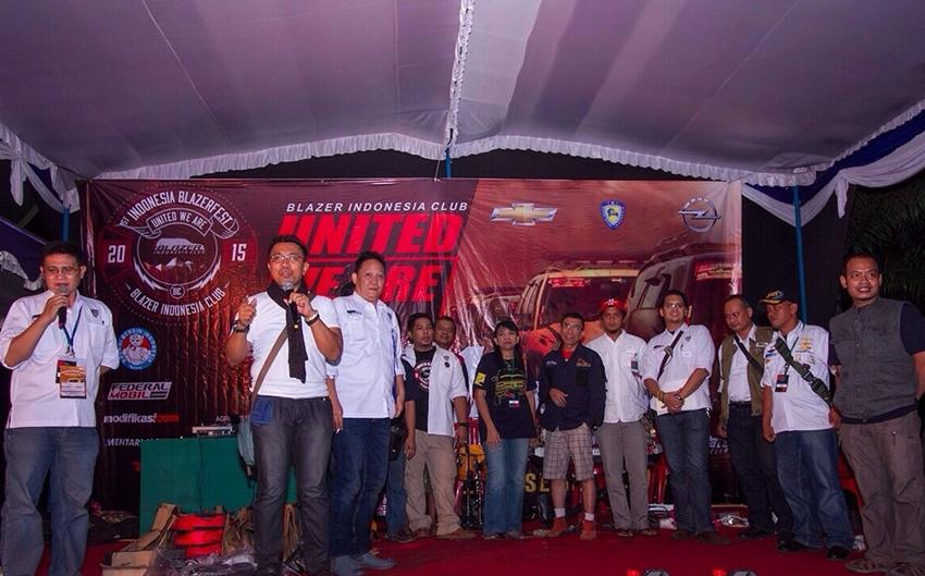 HUT ke-14 Blazer Indonesia Club