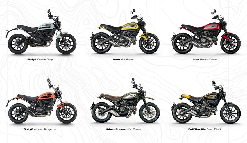 Line up Ducati Srcambler yang Ada di Indonesia