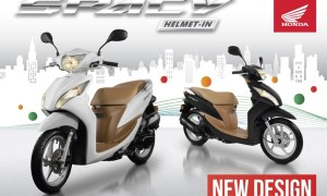 Honda Spacy Helm-In Facelift