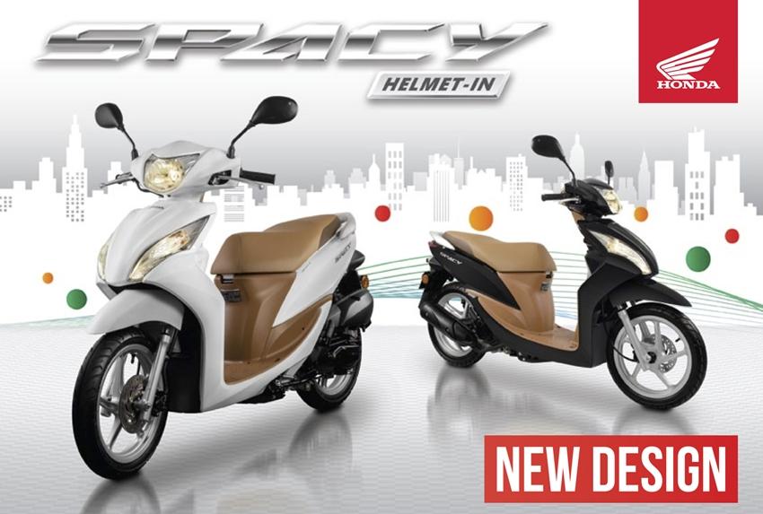 Honda Spacy Helm-In Facelift