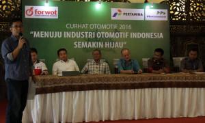 FORWOT Gelar Diskusi Industri Otomotif yang Ramah Lingkungan