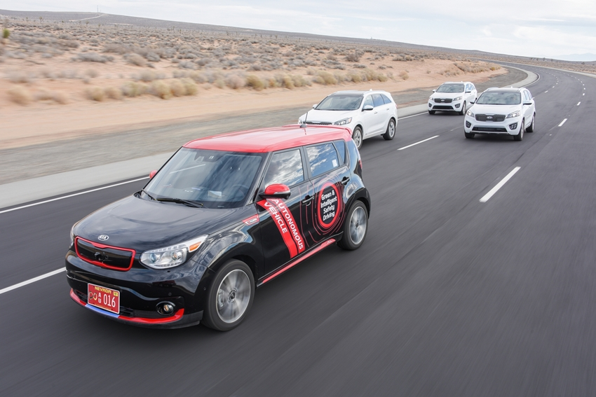 Kia DRIVE WISE juga punya Highway Autonomous Driving