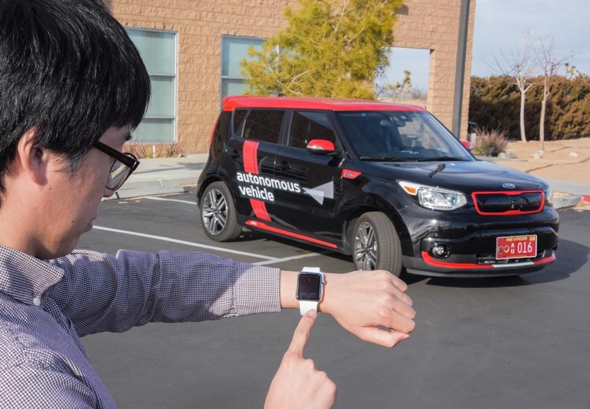 Autonomous Valet Parking di Kia Soul DRIVE WISE