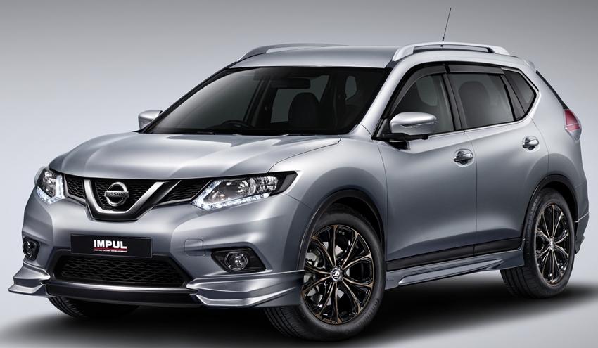 Paket Aksesori Nissan X-Trail Impul Edition