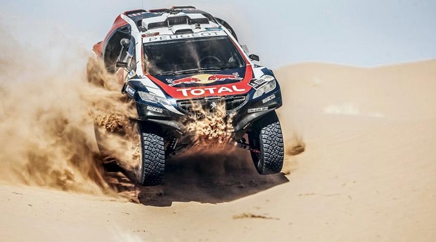 Peugeot-Total Raih Kemenangan