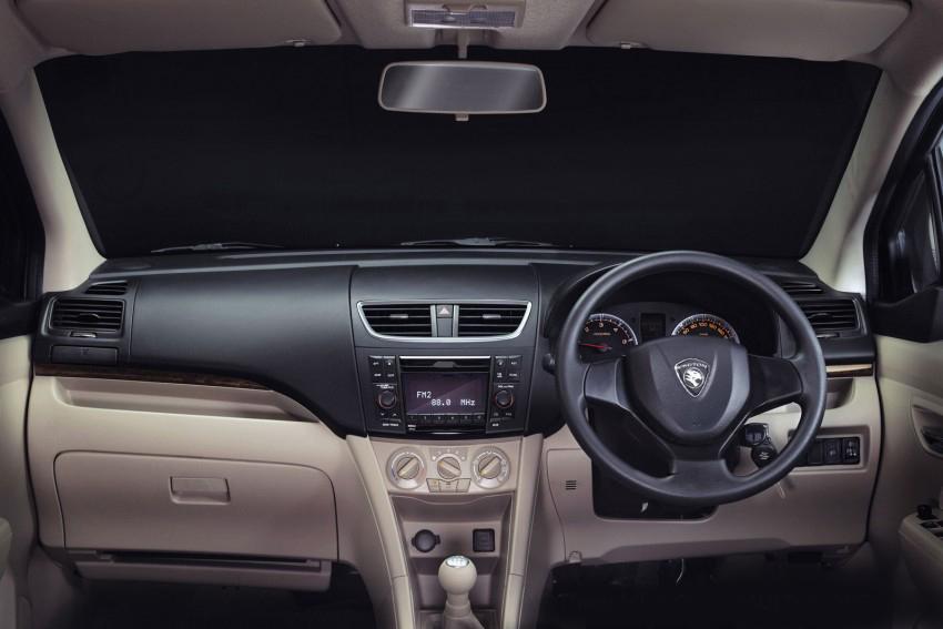 Rendering Dashboard Proton Ertiga