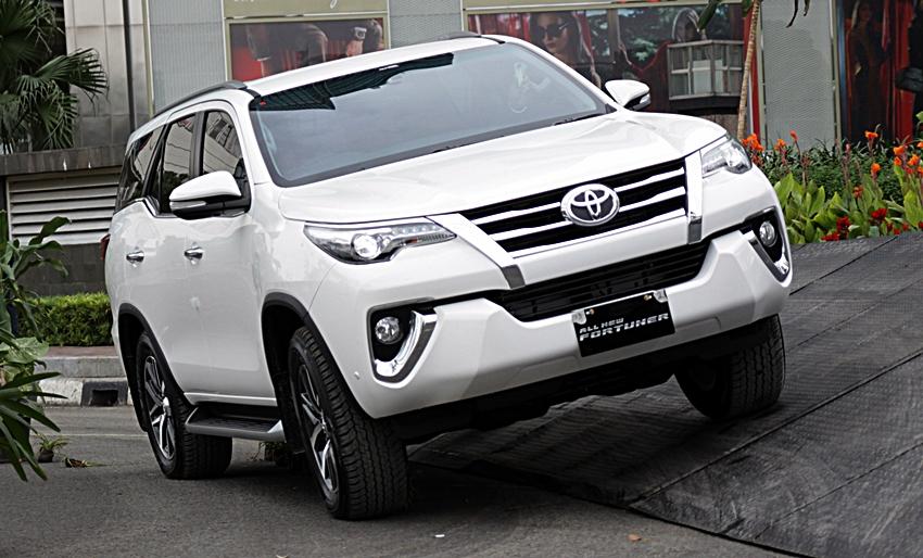Spesifikasi dan Harga Toyota All New Fortuner