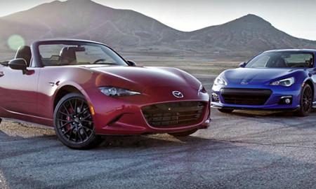 komparasi Mazda MX-5 Miata VS Subaru BRZ