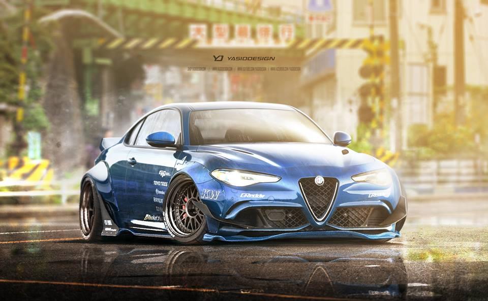 Modifikasi Alfa Romeo Giulia