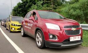 Komunitas Chevrolet Jajal Touring Pakai Chevrolet Trax