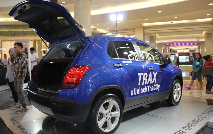 Hadiah Utama Berupa Chevrolet Trax