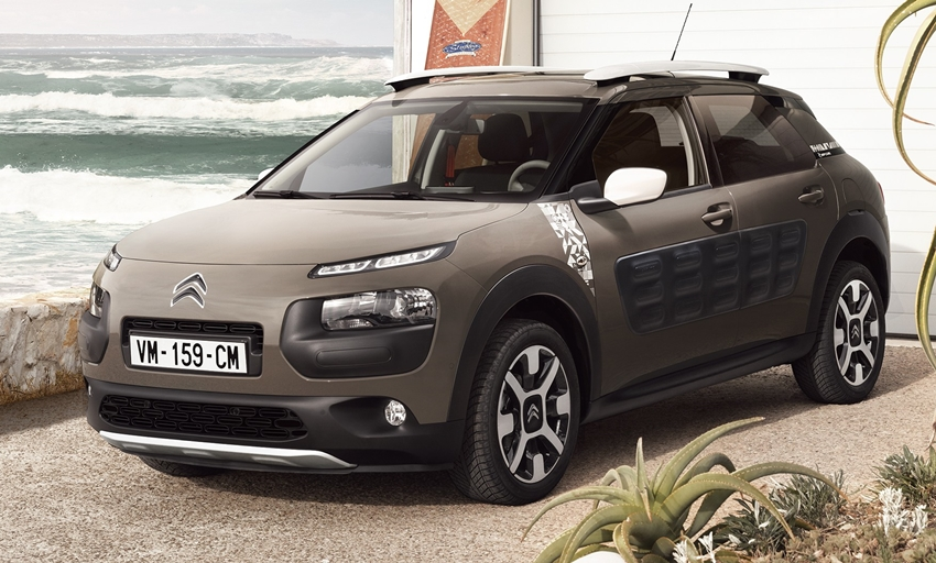 citroen c4 cactus rip curl buat para surfer. Black Bedroom Furniture Sets. Home Design Ideas