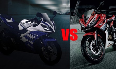 Komparasi Honda All New CBR150R Vs Yamaha R15