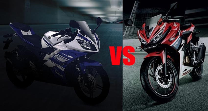 Komparasi Honda All New CBR150R Vs Yamaha R15