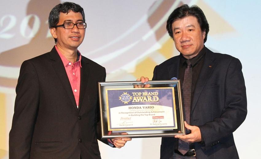 Penghargaan Top Brand Award ke-8 Bagi AHM