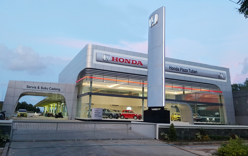 Honda buka dealer ke 114 di tuban for Plaza motors infiniti service department