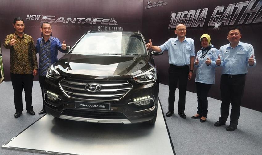 Peluncuran Hyundai New Santa Fe di Jakarta