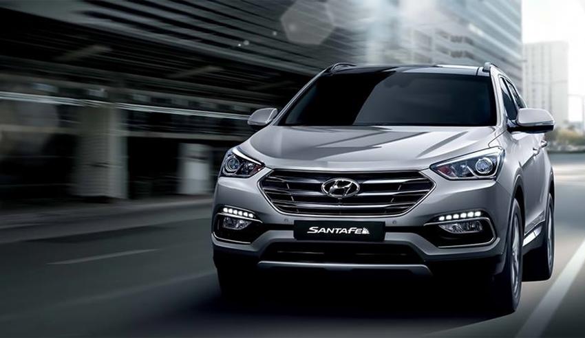 Hyundai New SantaFe Model 2016 -3