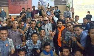 Kang JJ Berbagi Kisah Ride for Peace di Makassar