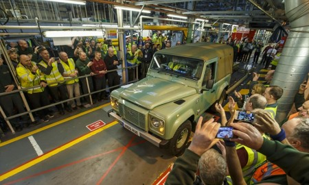 Produksi Land Rover Defender