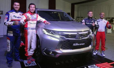 Tes Mitsubishi All New Pajero Sport Bareng Pereli Dakar