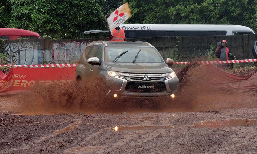 Trek Lumpur Pembuktian Mitsubishi All New Pajero Sport