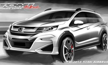 Modifikasi Honda BR-V
