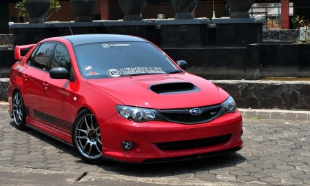 Modifikasi Subaru WRX