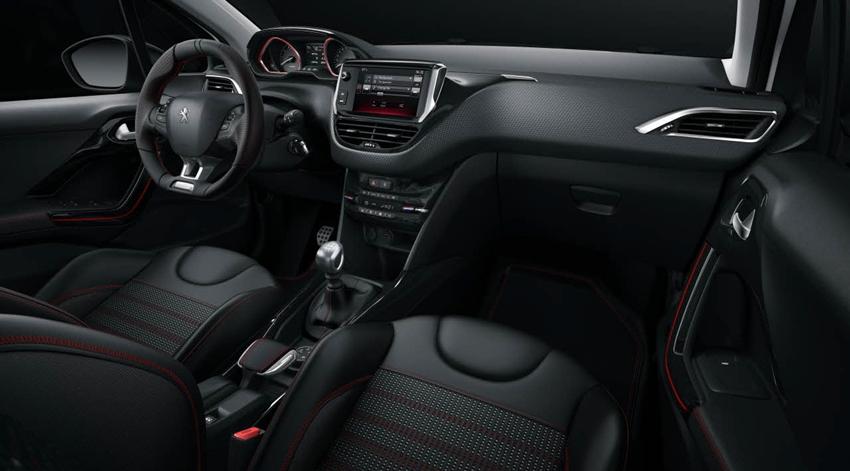 Interior Peugeot 2008 Facelift GT Line