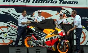 Repsol Honda Luncurkan Motor Marquez dan Pedrosa