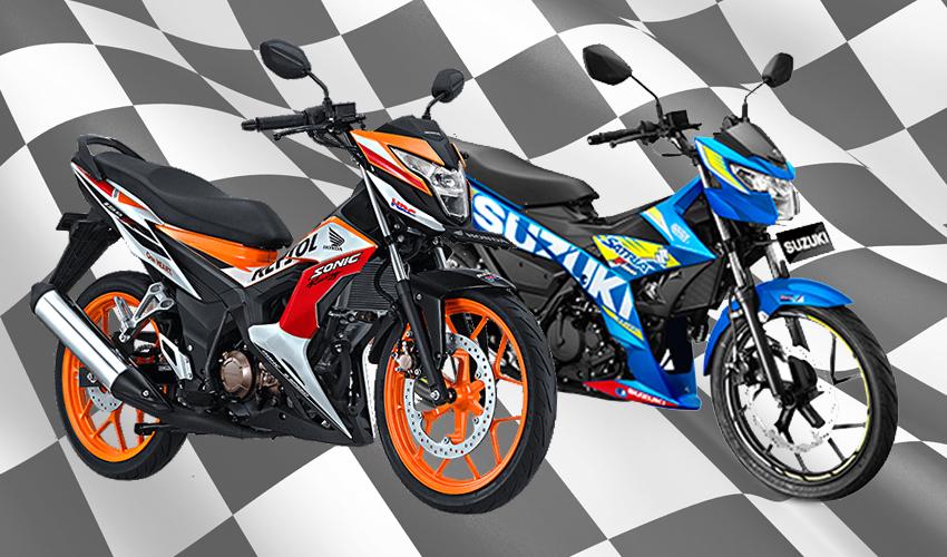 Suzuki All New Satria F150 Vs Honda New Sonic 150R