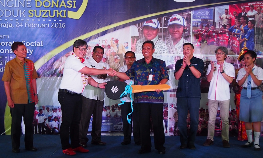 Donasi Suzuki di SMKN Bekasi