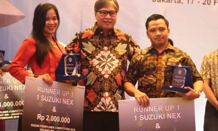 Suzuki Gelar Kompetisi Antar Frontliner BeRes