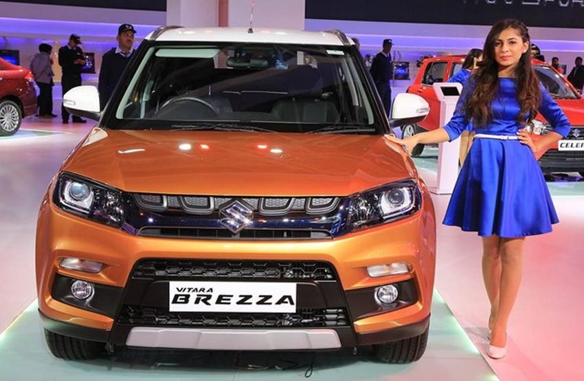 Peluncuran Suzuki Vitara Brezza di India