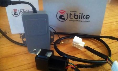 T-Bike GPS Tracker Bisa Kontrol Motor dari Ponsel