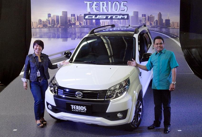 Peluncuran Daihatsu Terios R Custom di Jakarta