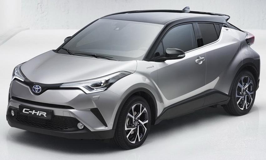 Spesifikasi Toyota C-HR