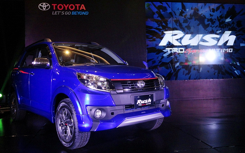 TRD Sportivo Ultimo jadi Toyota Rush Termahal