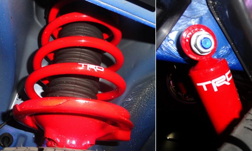 Suspensi Toyota Rush Trd Sportivo Ultimo Hasil Racikan
