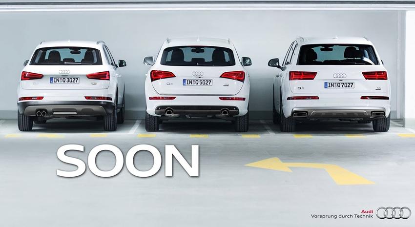 Teaser Audi Q2