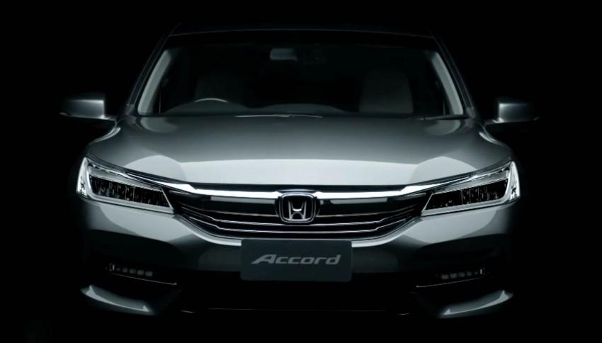 Honda Accord Facelift 2016