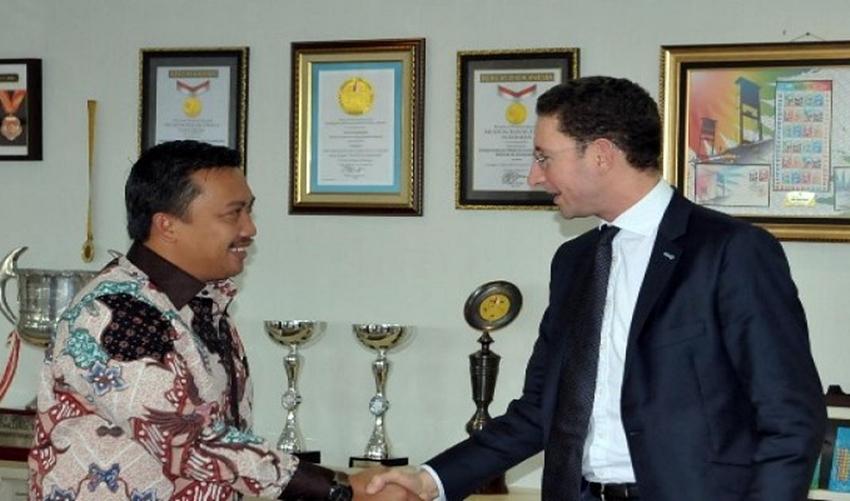 Pertemuan Kemenpora dengan Abdulla Boulsien