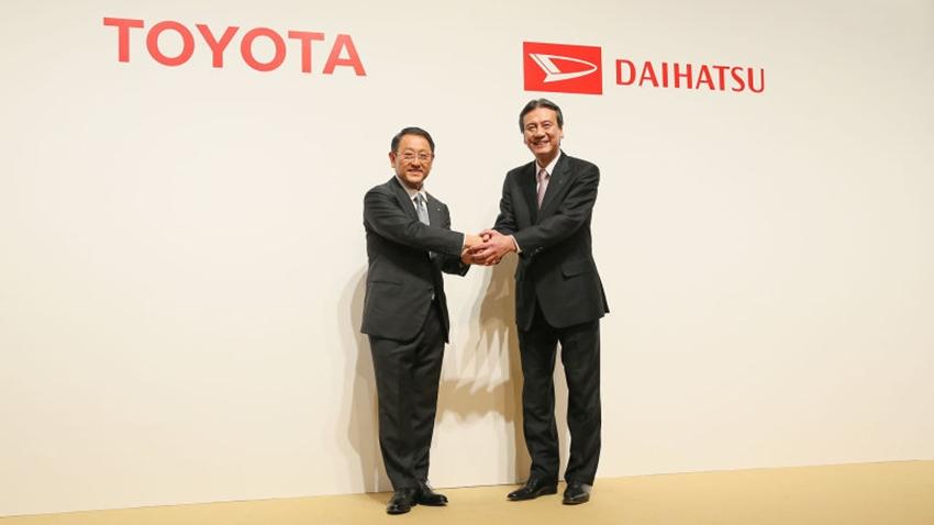Toyota akan membeli semua saham Daihatsu