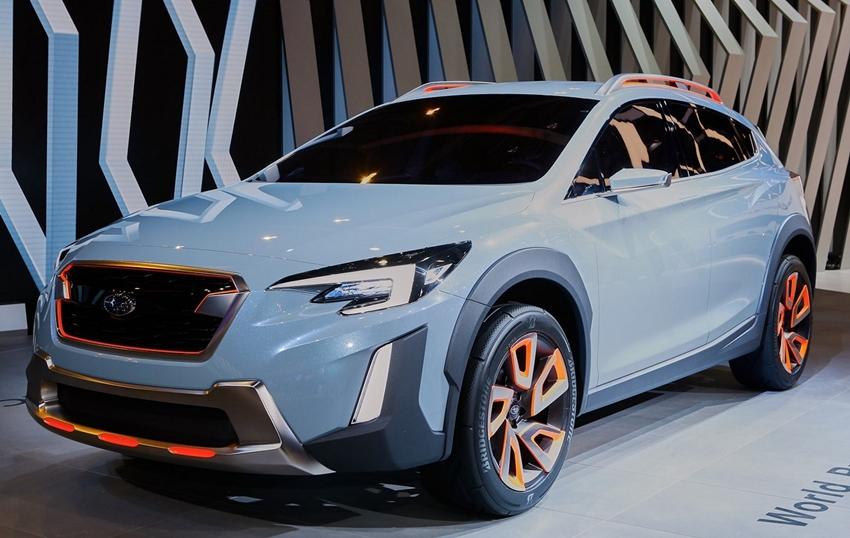 Subaru XV Generasi Mendatang Siap Tantang Mercedes GLA