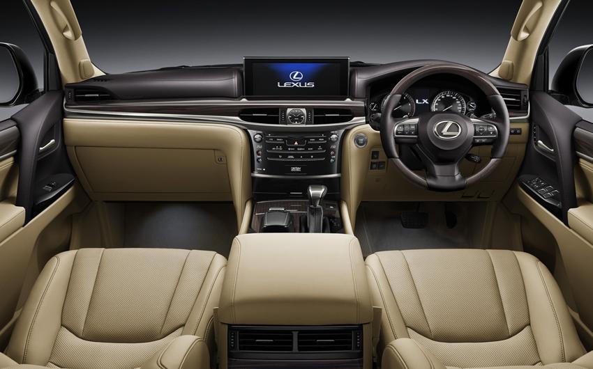 Spesifikasi Lengkap Dan Harga All New Lexus Lx 570 Di