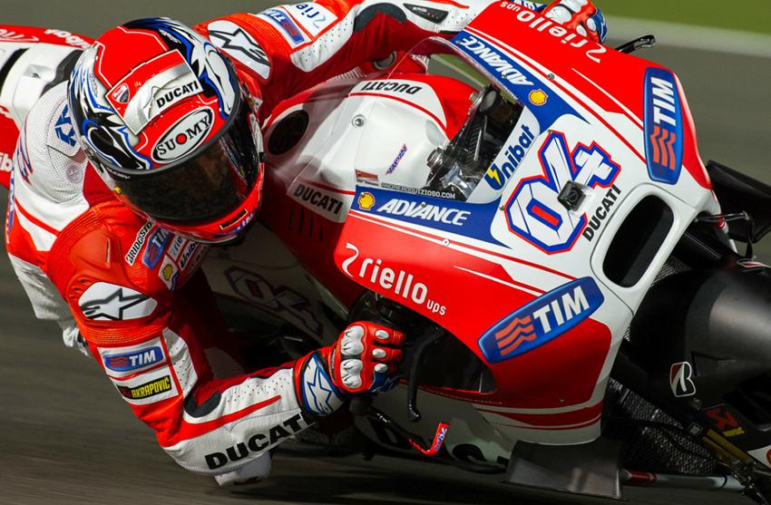 Dovizioso Tunjukkan Ducati Menebar Ancaman